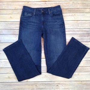 Levi's 5 pocket classic straight leg jeans